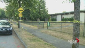 Man shot in front of East Vancouver elementary school