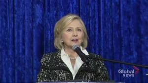 Hillary Clinton: 'We are fine thanks to the men and women of the secret service'