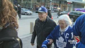 Long time Leafs fan receives surprise of a lifetime