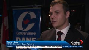 Conservative Dane Lloyd wins Sturgeon River-Parkland byelection