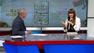 Equal parts love story and murder mystery, author Kate Morton discusses her new novel, The Clockmaker's Daughter