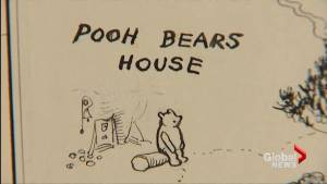 Original Winnie the Pooh map to be auctioned in London