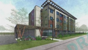 Kelowna residents rally against proposed homeless facility