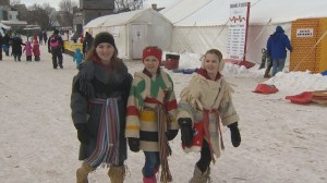 Global News Morning at Festival du Voyageur Part 1