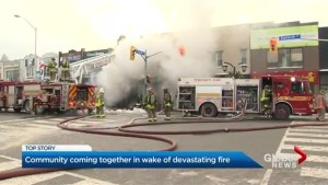 Fire knocks out 2 iconic Danforth stores