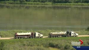 'It's not as bad as what people fear': Local expert on North Saskatchewan River oil spill