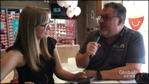 Corus employees assist with McHappy Day in Peterborough