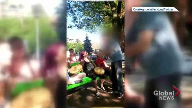 Indigenous drummers say they faced racist confrontation in Toronto park