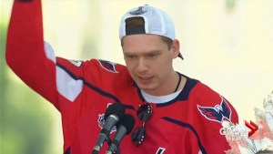 Capitals' Kuznetsov during Stanley Cup rally: 'Let's f*** this s***'