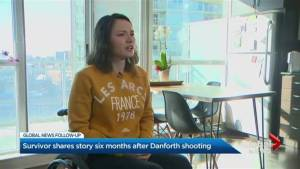 Danforth survivor on life six months since mass shooting