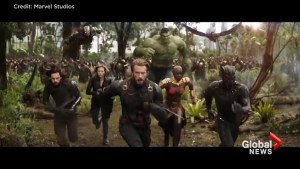 Movie trailer: 'Avengers: Infinity War'