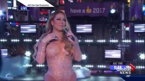 Mariah Carey has disastrous New Year's Eve performance