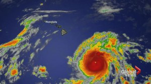 Canadian government warns against travel to Hawaii as Hurricane Lane approaches