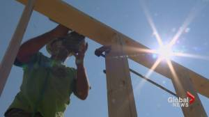Calgarians working outside share tips on surviving heatwave