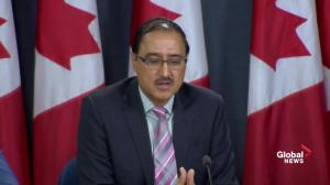 Sohi explains why Ottawa won't appeal Trans Mountain court ruling