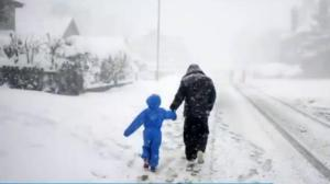 Winter storm in Europe turns deadly