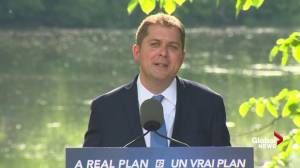 Scheer says forcing green investment won't lead to higher prices