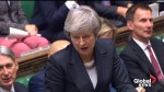 Theresa May rejects accusation that she hid Brexit facts from parliament