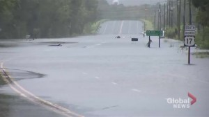 Hurricane Florence: Flooding emergency as storm stalls over the Carolinas