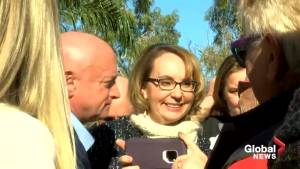 Retired NASA astronaut Mark Kelly kicks of Arizona Senate race in Tucson