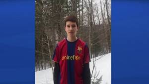 Quebec teen suspended for wearing jersey on Jersey Day (01:34)