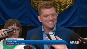 Alberta's united right sets sights on NDP (01:42)