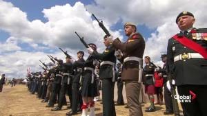 Canadian D-Day 75 ceremony held on Juno Beach