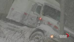 Winter storm hits Atlantic Canada hard