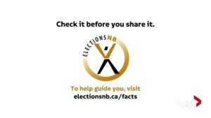 Elections New Brunswick would like you to stop sharing fake news