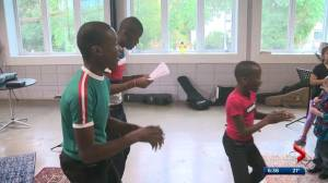 Edmonton's Melisizwe Brothers take time to give back to young artists this summer