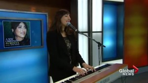 Florence K performs Christmas Is Almost Here