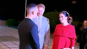 Prince Harry and Meghan Markle arrive in Morocco for royal visit