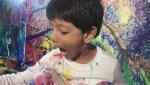 4-year-old international art prodigy living in Saint John