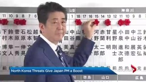 Japanese prime minister scores election win