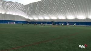 Edmonton Soccer Dome opening this weekend