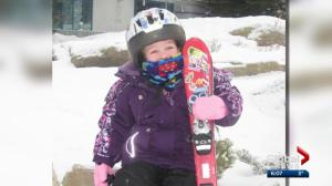 Calgary girl who died in skiing accident remembered with award