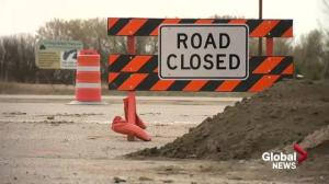 Balgonie resident protests removal of Main Street access to Highway 1