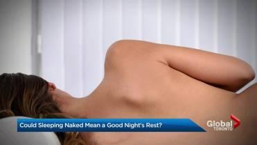 sleeping naked better
