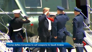 Trump defies Congress to sell weapons to Saudi Arabia