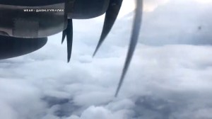 Hurricane Michael: Storm hunters fly into hurricane