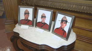 Moncton honours RCMP heroes 1-year after tragic shooting