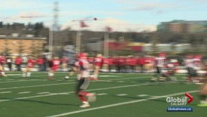 Calgary High School senior football championships