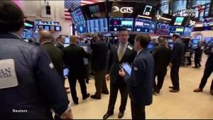Bruising week for U.S. stock markets