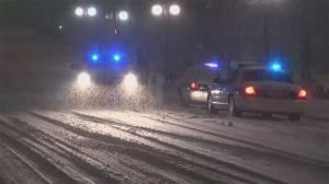 Winter storm bearing down on east coast of U.S.