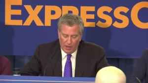 De Blasio says 'quick-witted work' of security guard at De Niro's facility helped detect suspicious package
