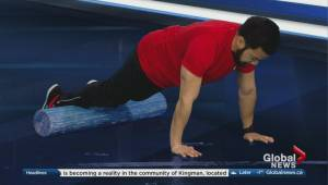 Fit tips with Blitz Conditioning: 4 exercises using a foam roller