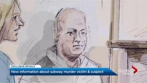 New information about subway murder victim, suspect