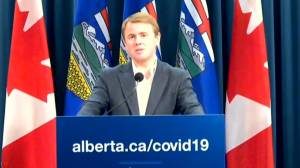 'We need more doses now': Alberta health minister calls on Ottawa to secure more COVID-19 vaccine doses (01:25)