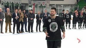 Saskatchewan Huskies Kohl Bauml and his brother share an unbreakable bond