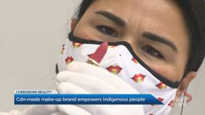 Cheekbone Beauty brand aims to empower Indigenous youth, lead in eco-friendly makeup (02:32)